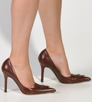 Brown Pumps Esmeralda