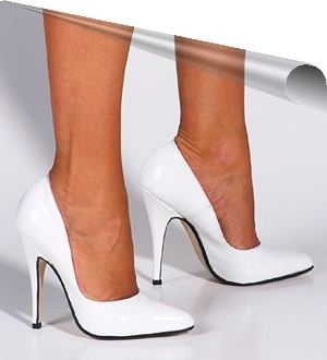 Pumps Charol Blanco Meissa