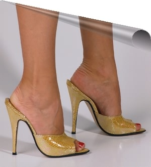 Camaleont<BR>Yellow Slippers Donatella