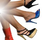 Scarpe e stivali con tacco a spillo realizzate a mano