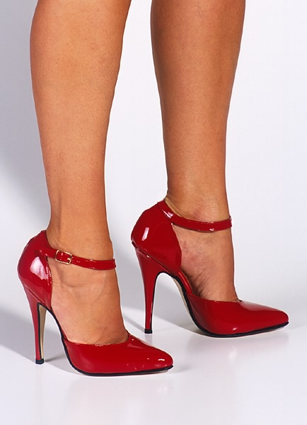 Red pumps and high heel